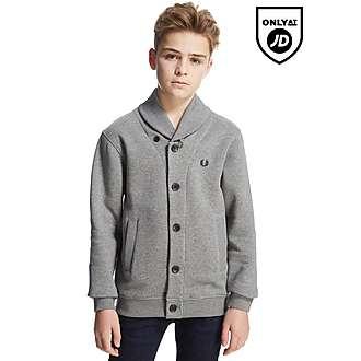 Fred Perry Shawl Button Sweatshirt Junior
