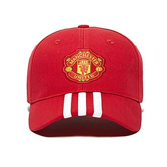 adidas Manchester United FC 3-Stripes Cap