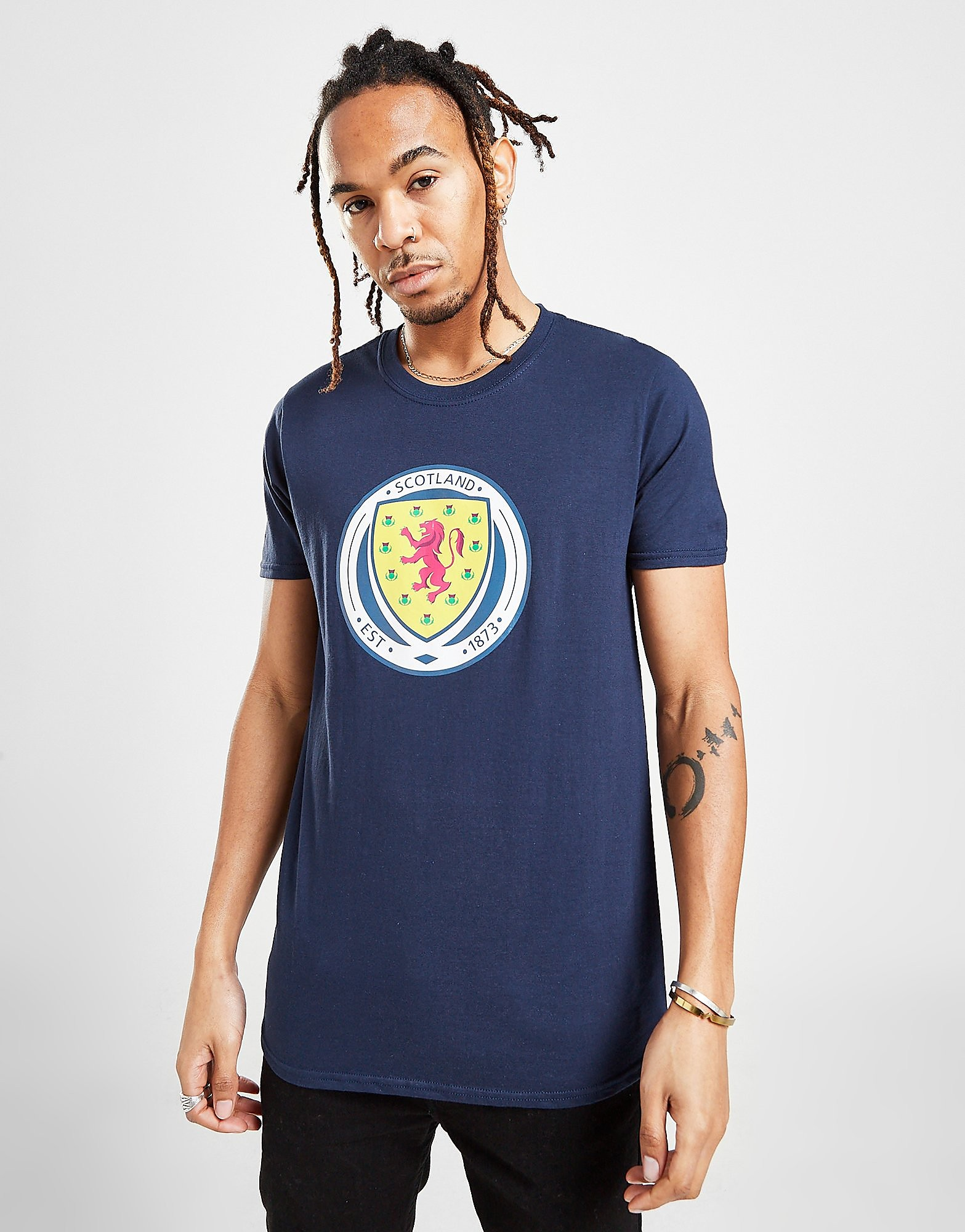 Official Team Camiseta con el escudo de Escocia FA