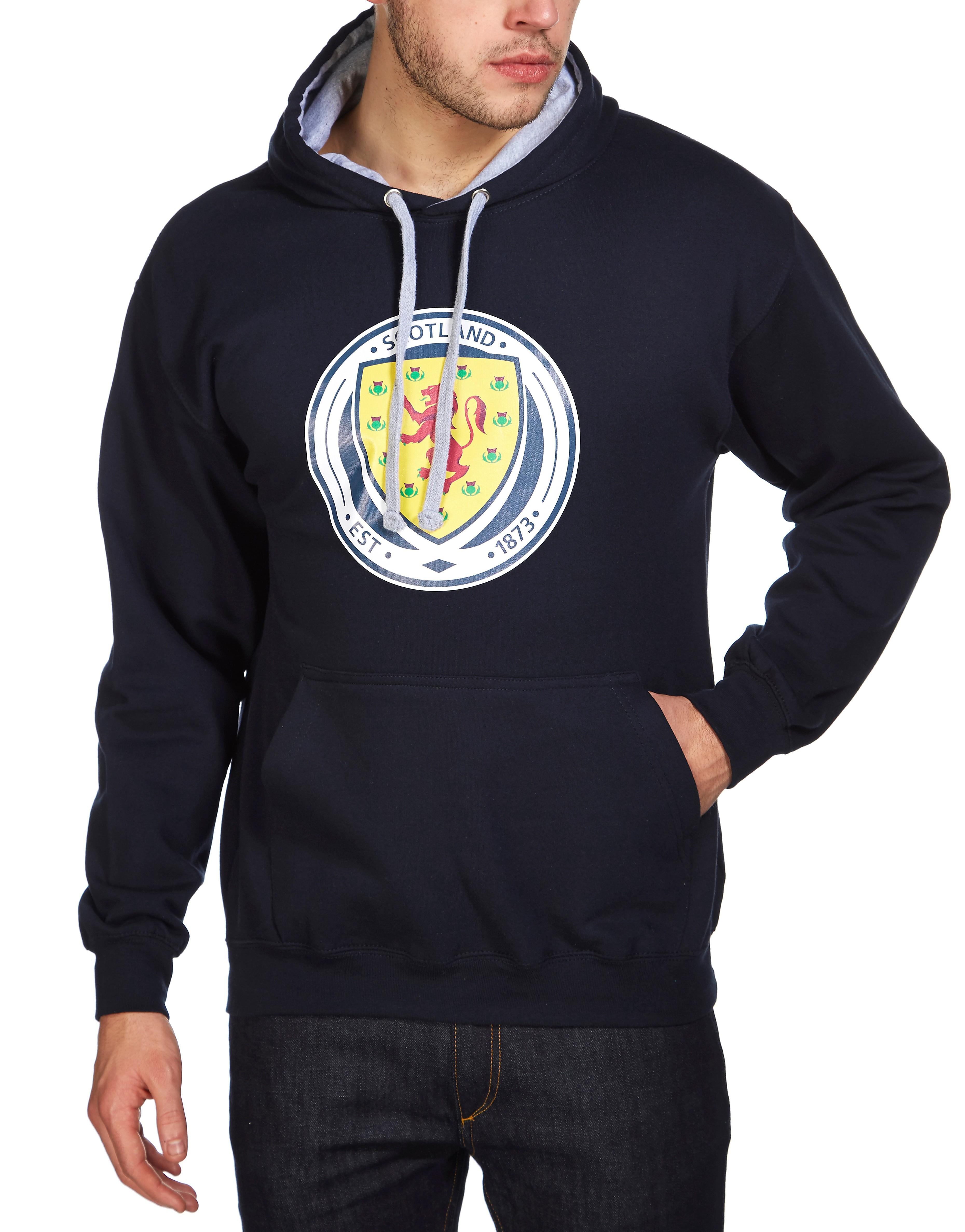 Official Team Scotland FA Crest Hoody