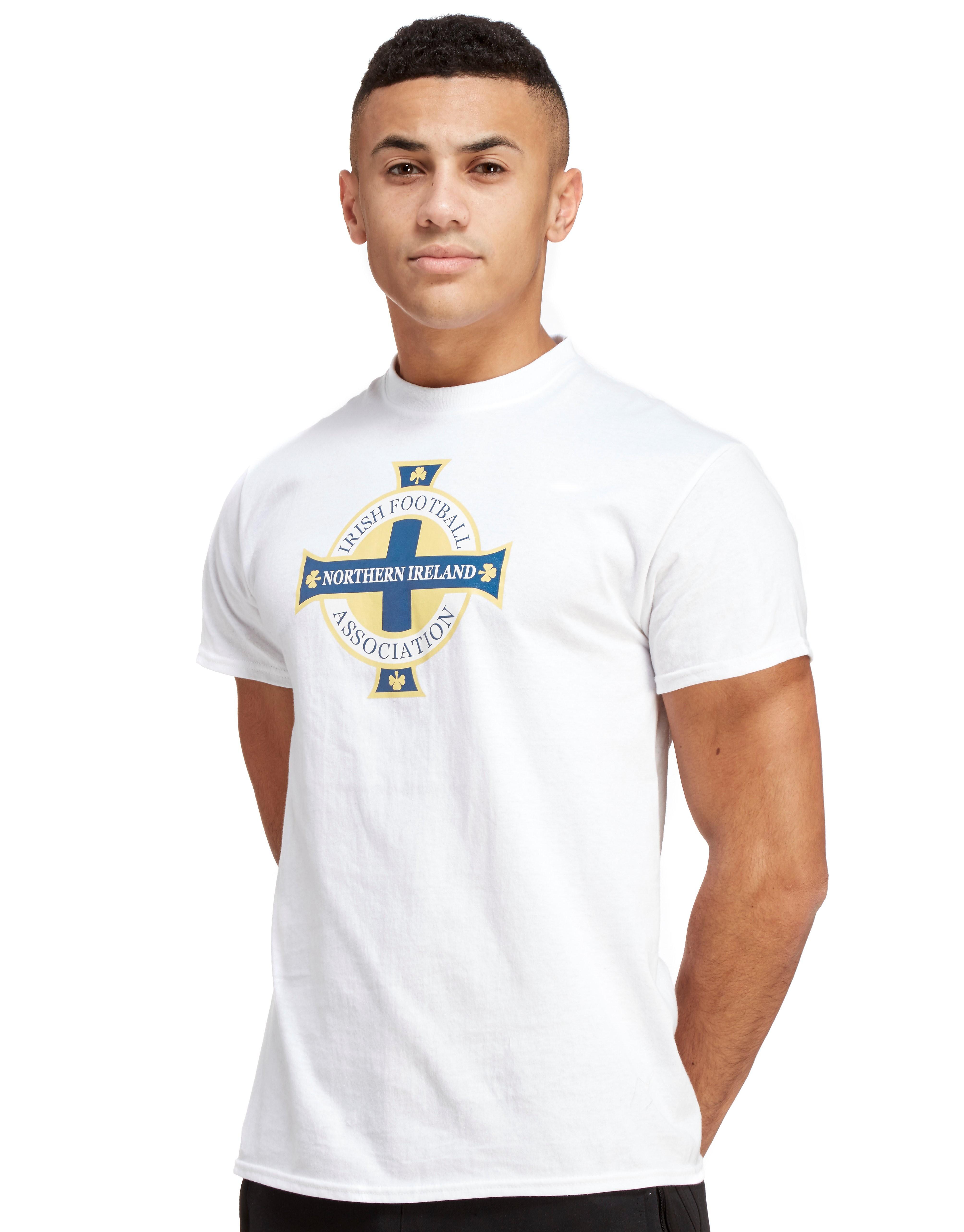 Official Team Noord-Ierland T-Shirt - Wit - Heren