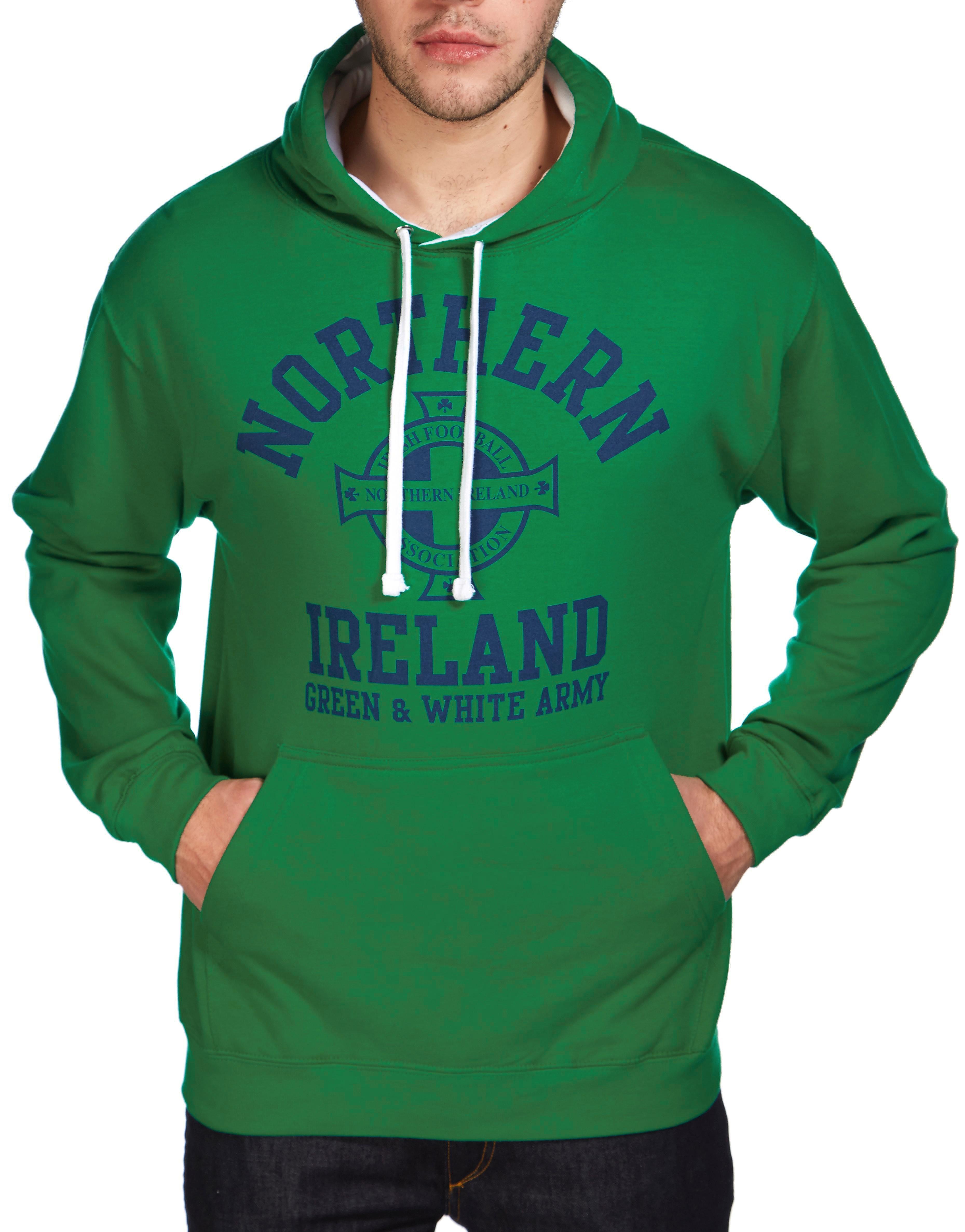 Official Team Northern Ireland Arch hættetrøje