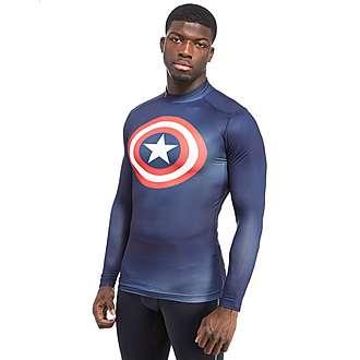 Under Armour Captain America ColdGear Compression Longsleeve