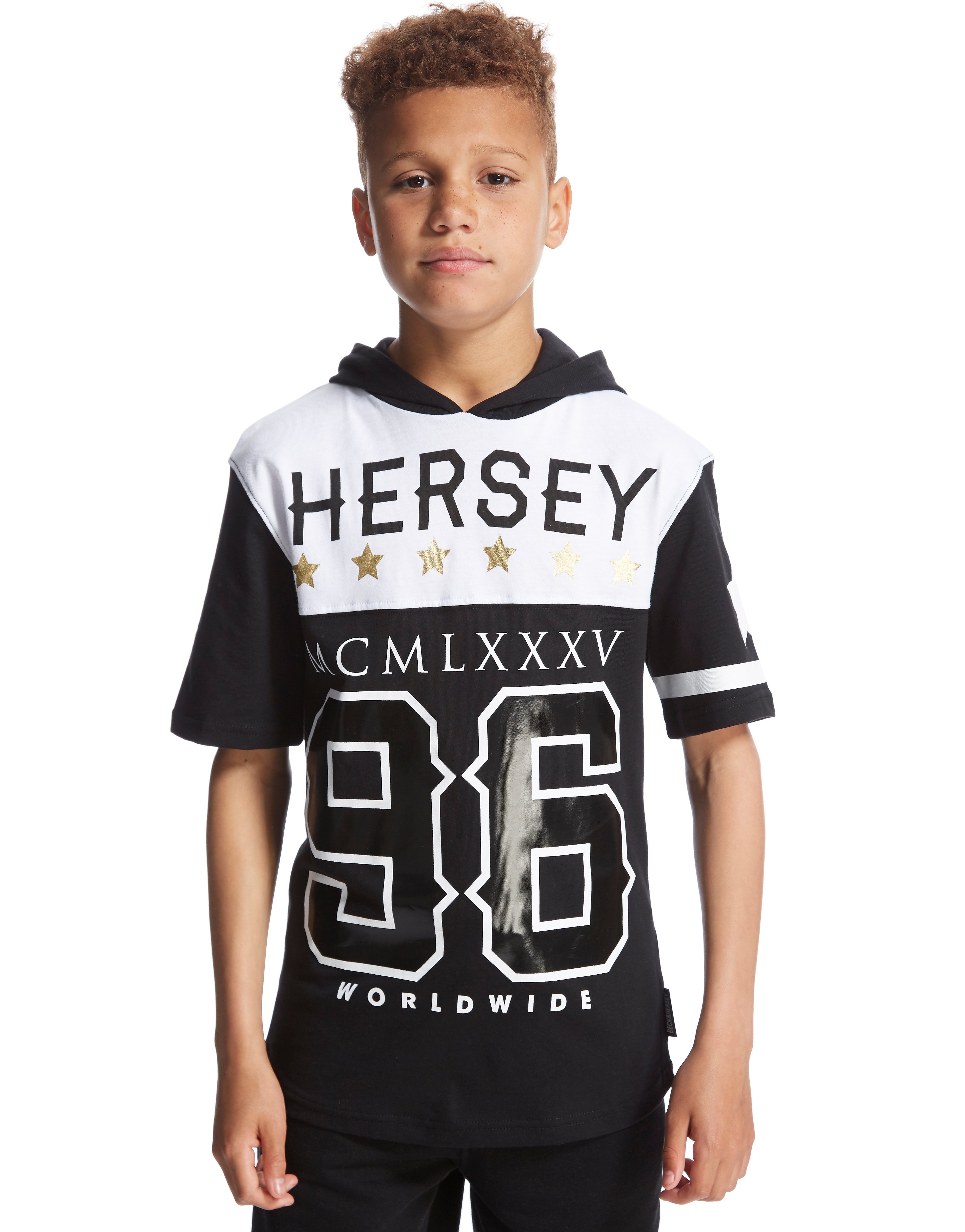 Beck and Hersey Avenue Z Hooded T-Shirt Junior