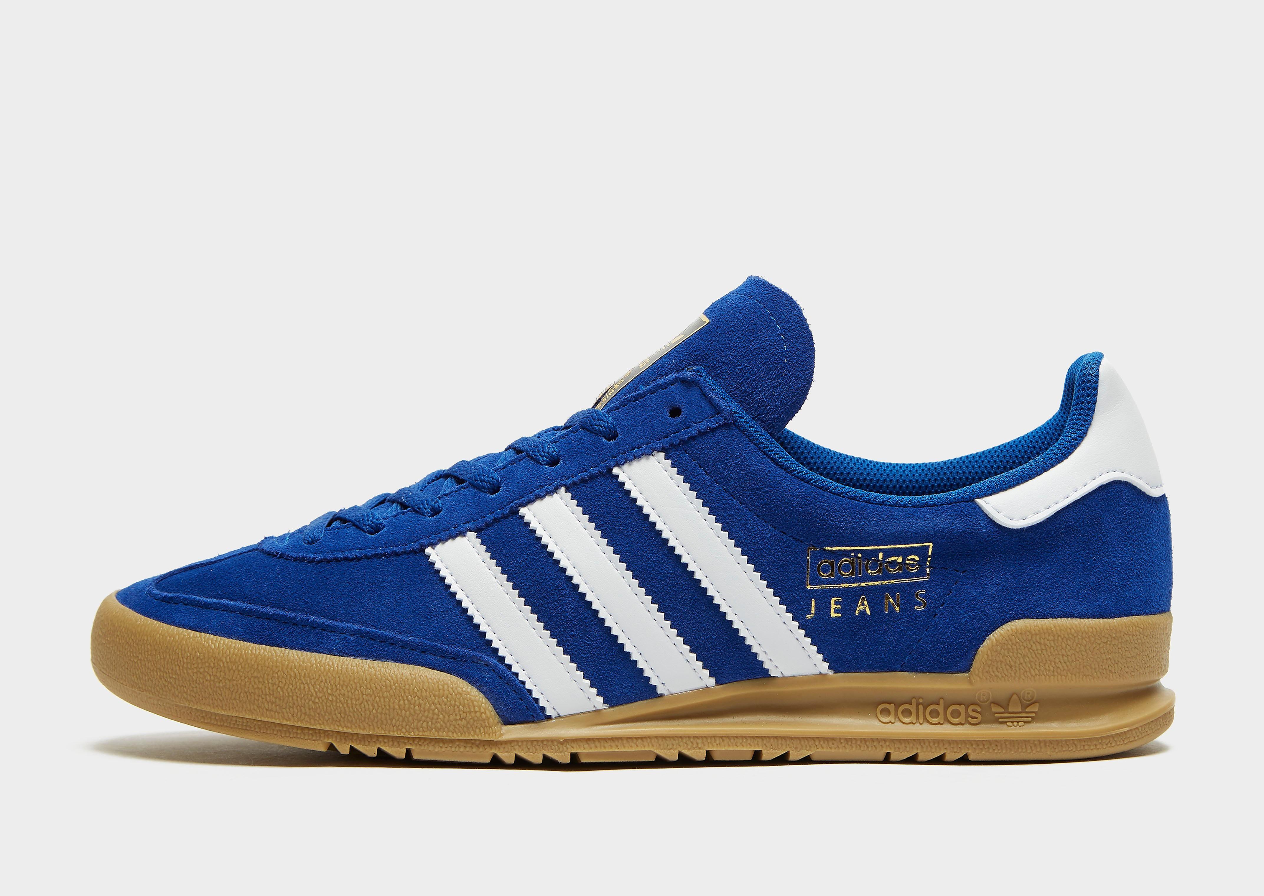 adidas Originals Jeans alleen bij JD Blauw Heren Blauw