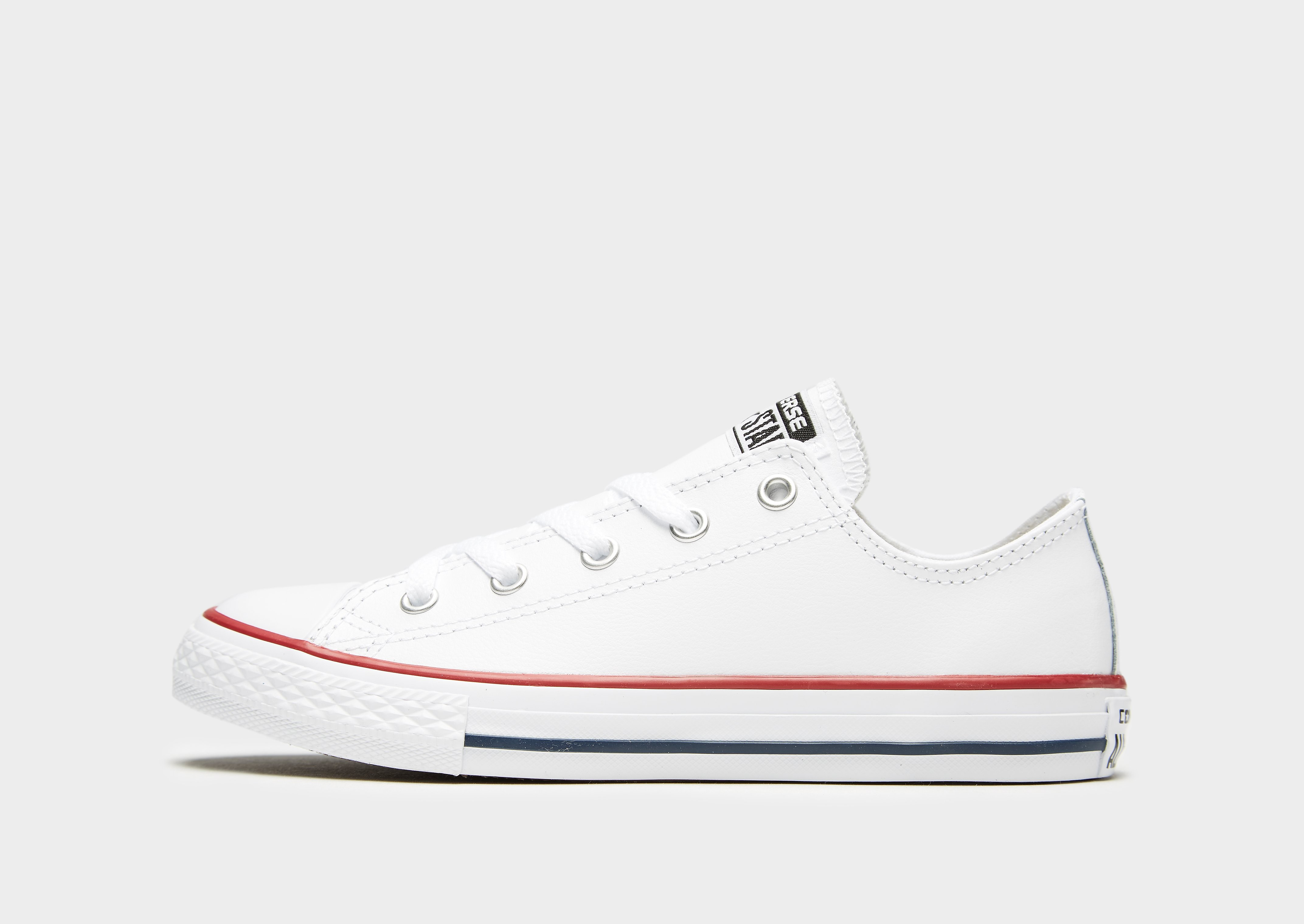 Converse All Star Ox Leather Kinderen Wit Kind