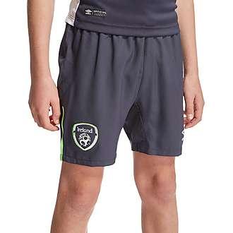 Umbro Republic Of Ireland 2015 Away Shorts Junior