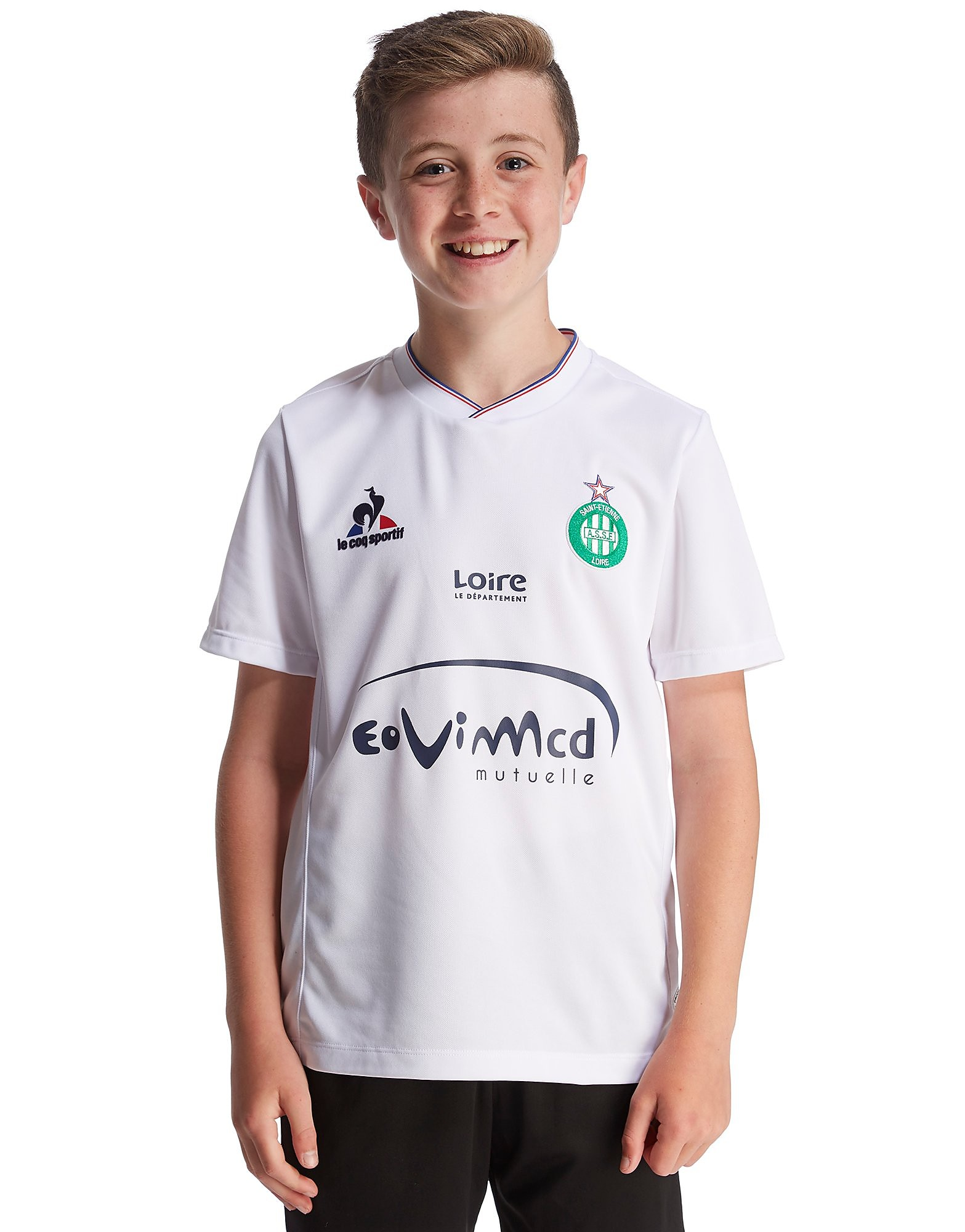 Le Coq Sportif AS Saint Etienne Away 2015/16 Shirt Junior