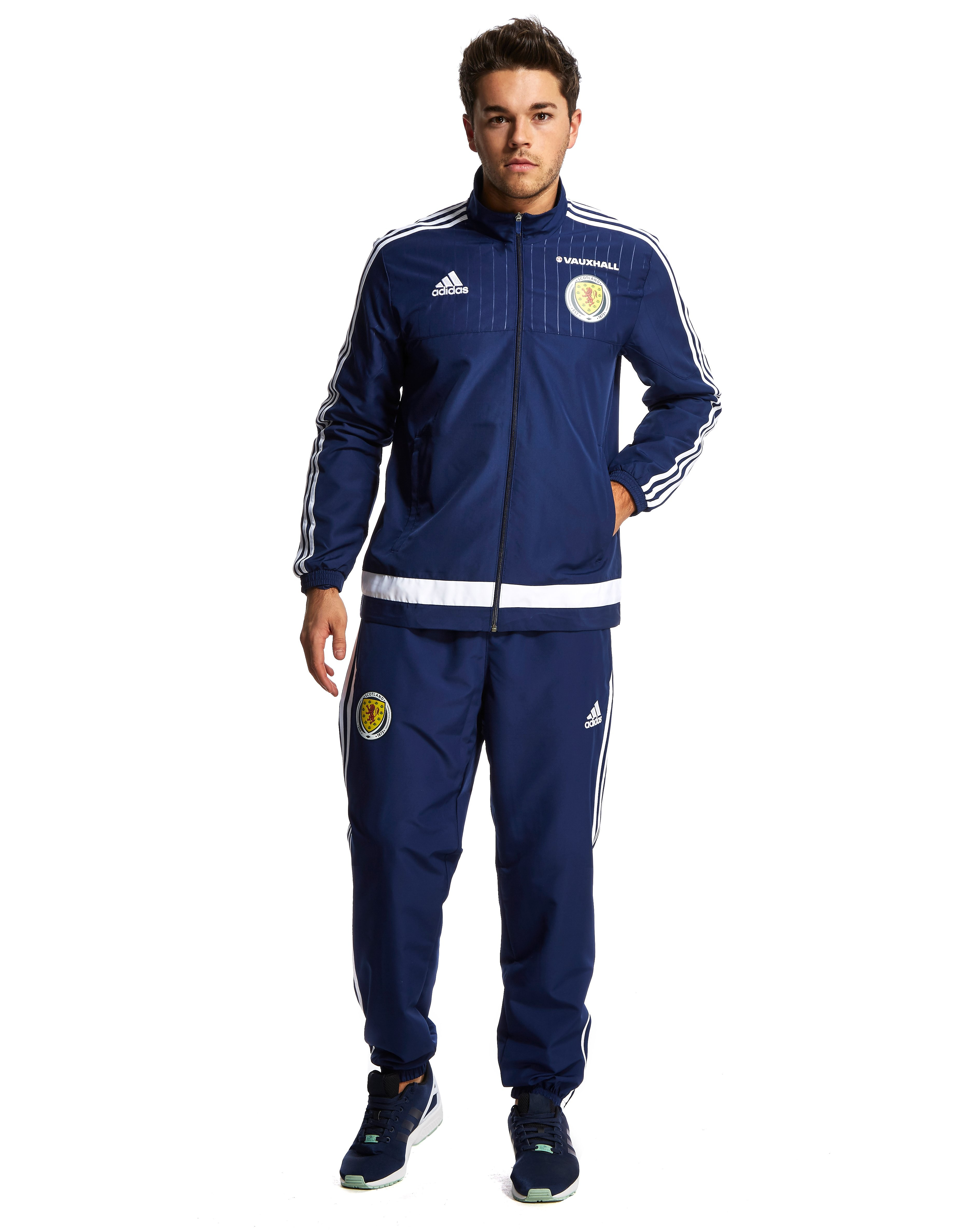 adidas Scotland FA 2015/16 Trainingsanzug