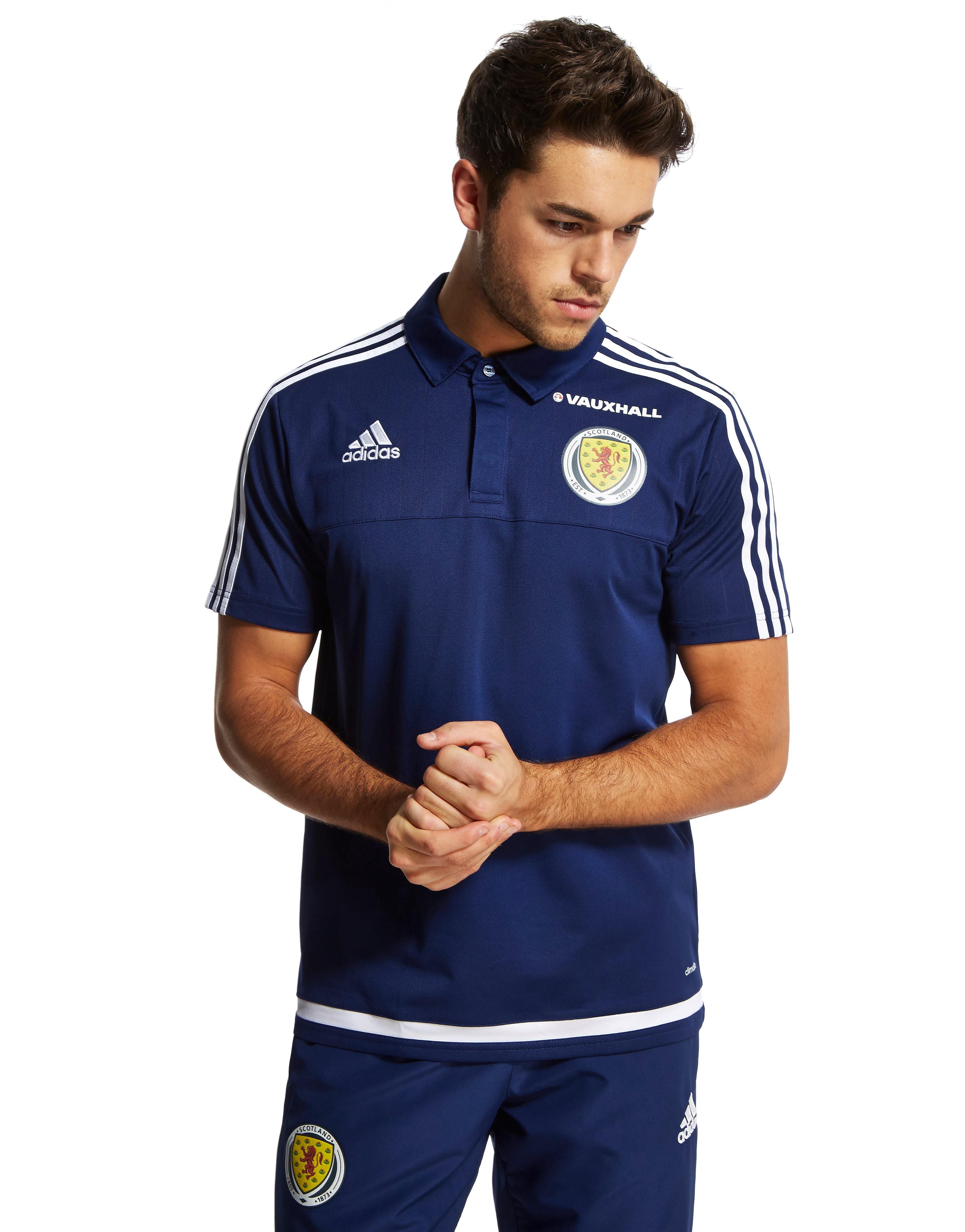 adidas Camiseta Polo de Escocia FA 2015/16 Climalite