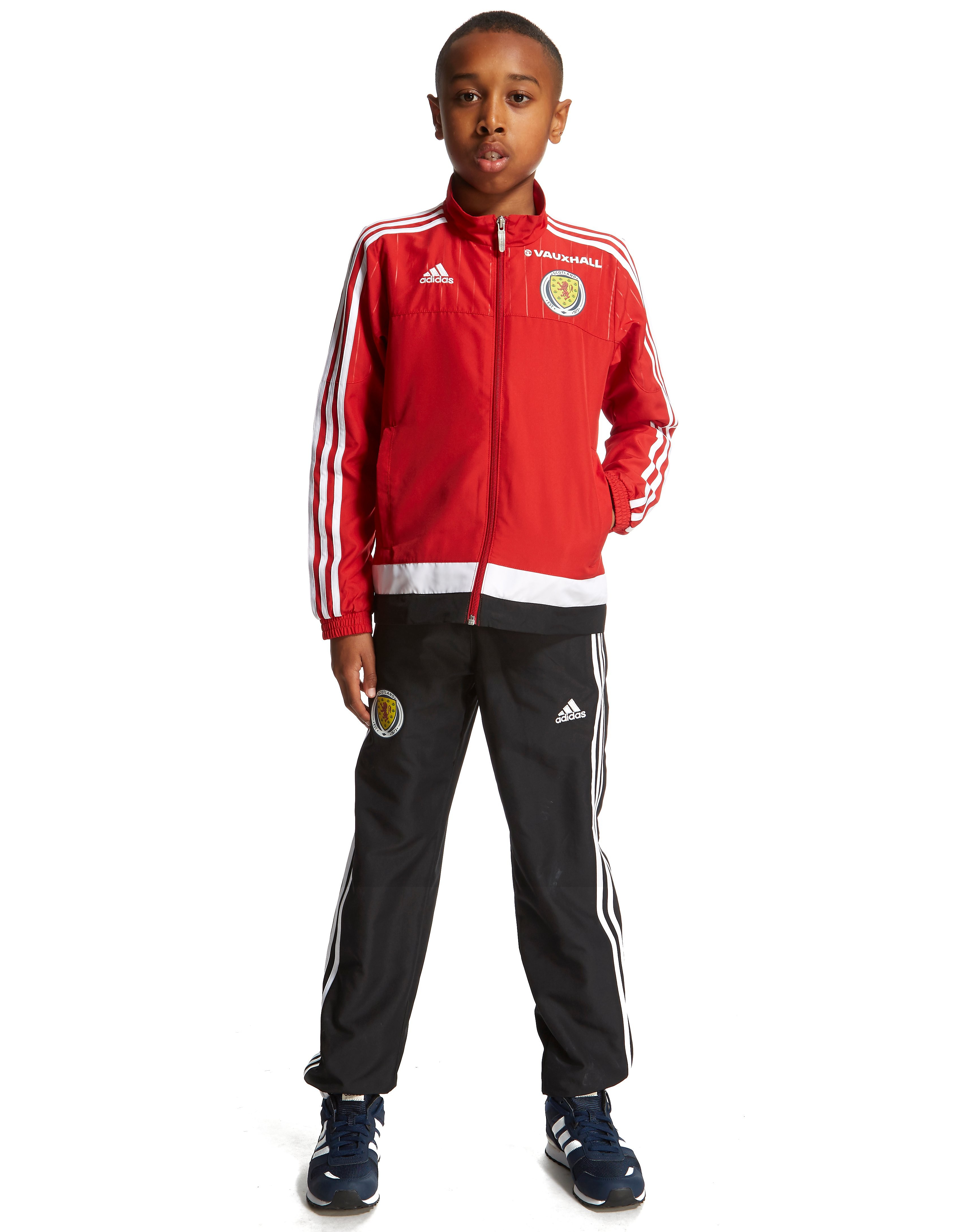 adidas Scotland FA 2015 Presentation Suit Junior