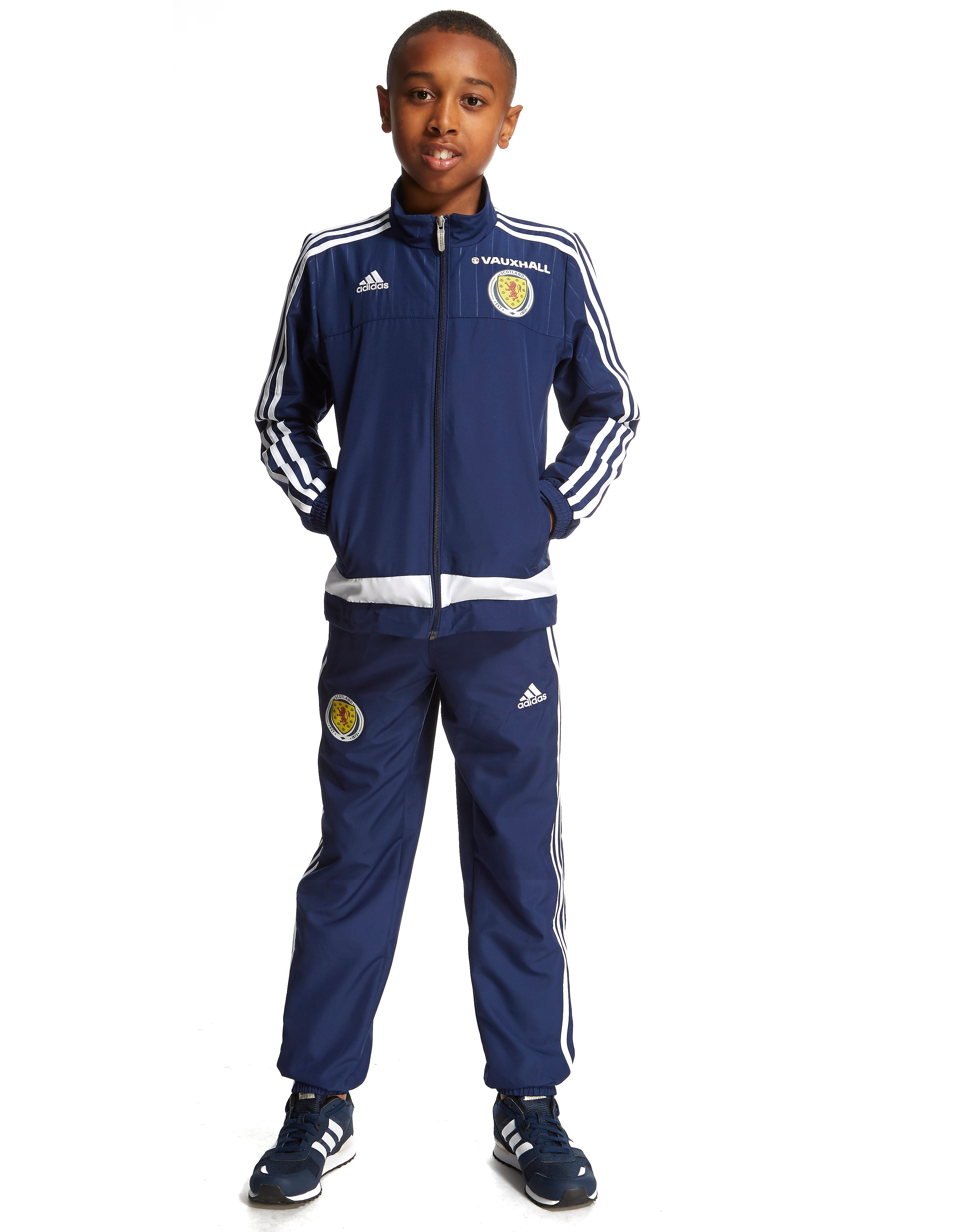 adidas Scotland FA Presentation Suit Junior