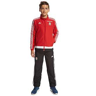 adidas Wales Presentation Suit Junior