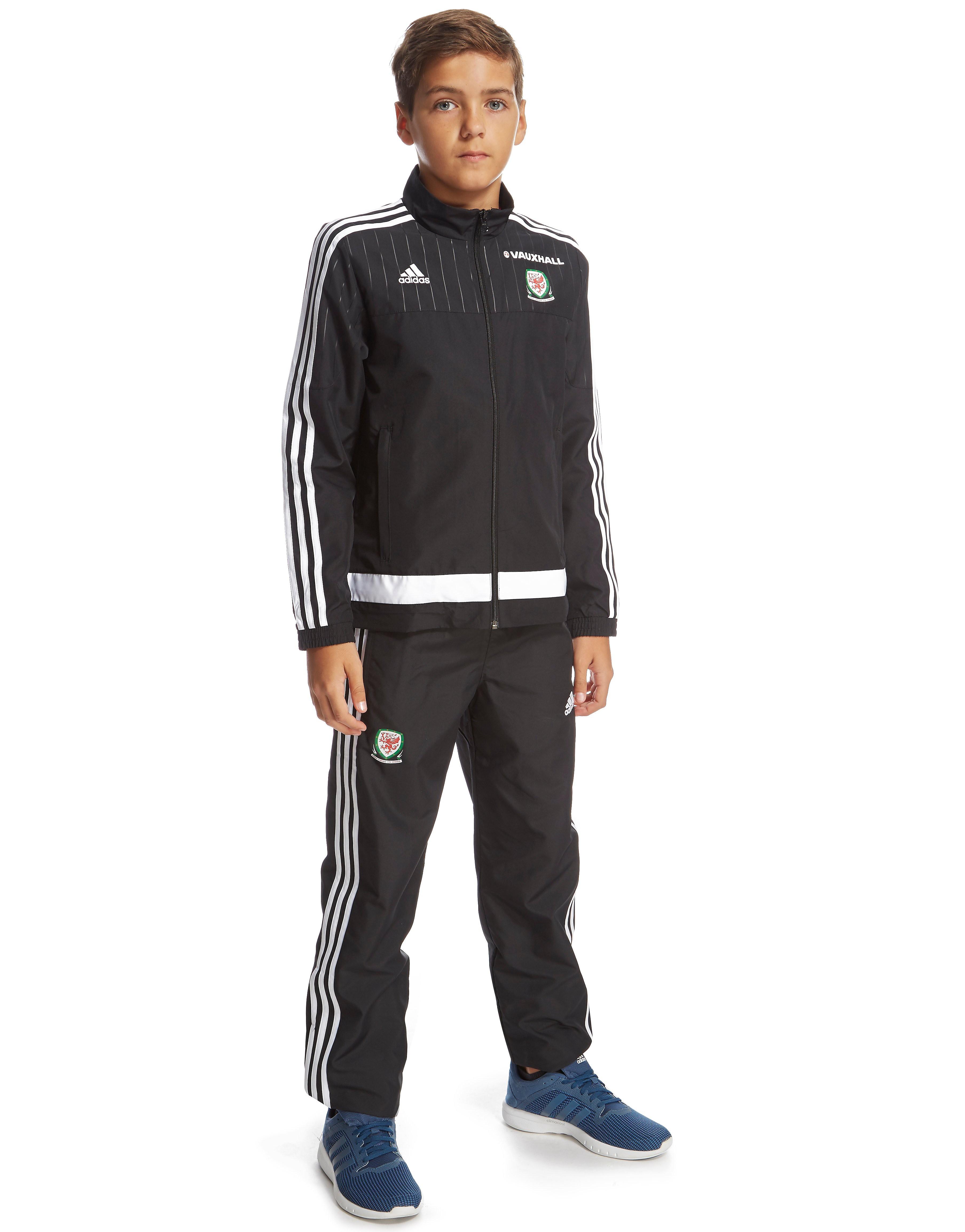 adidas Wales Presentation Suit Junior