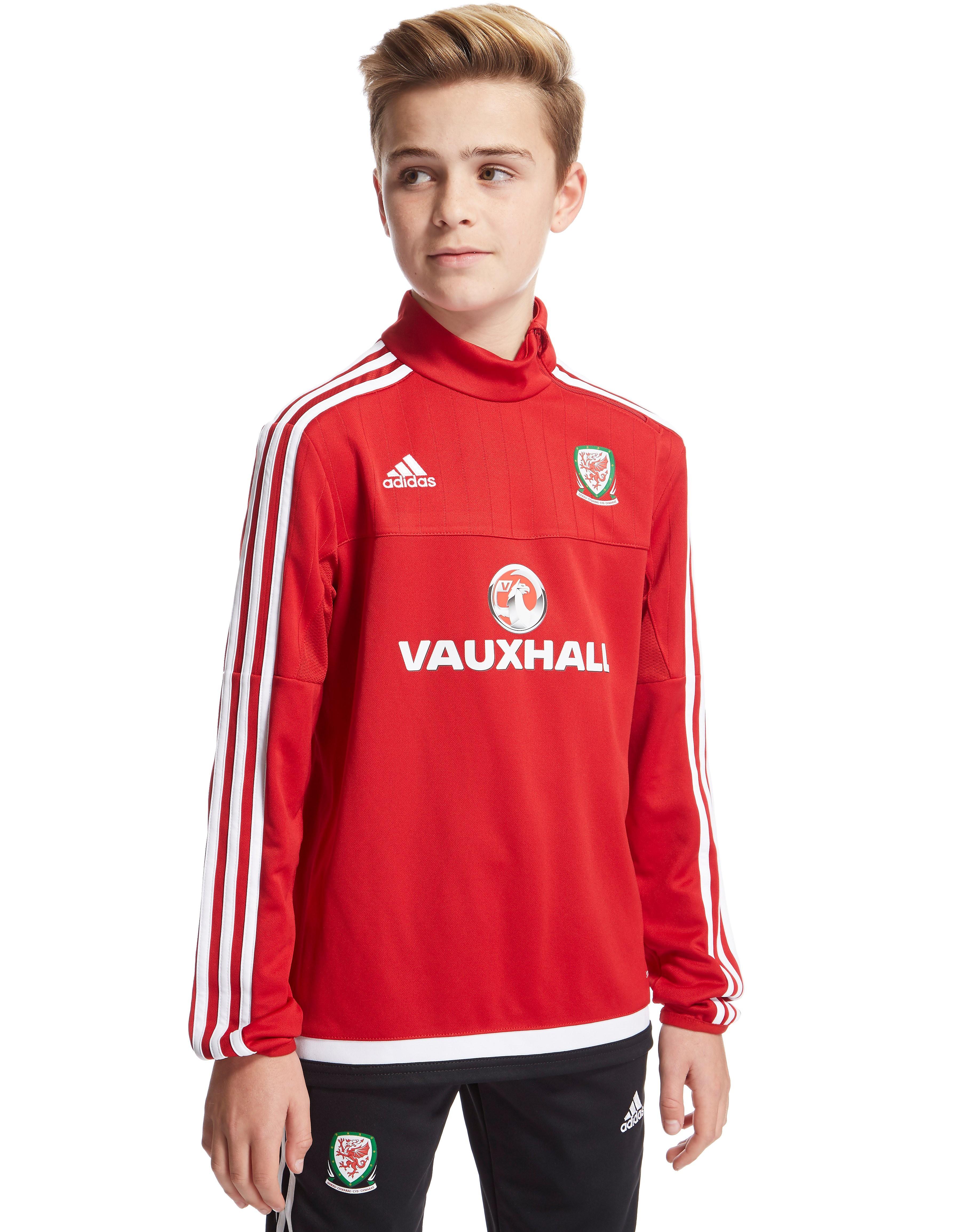 adidas Wales Training Top Junior