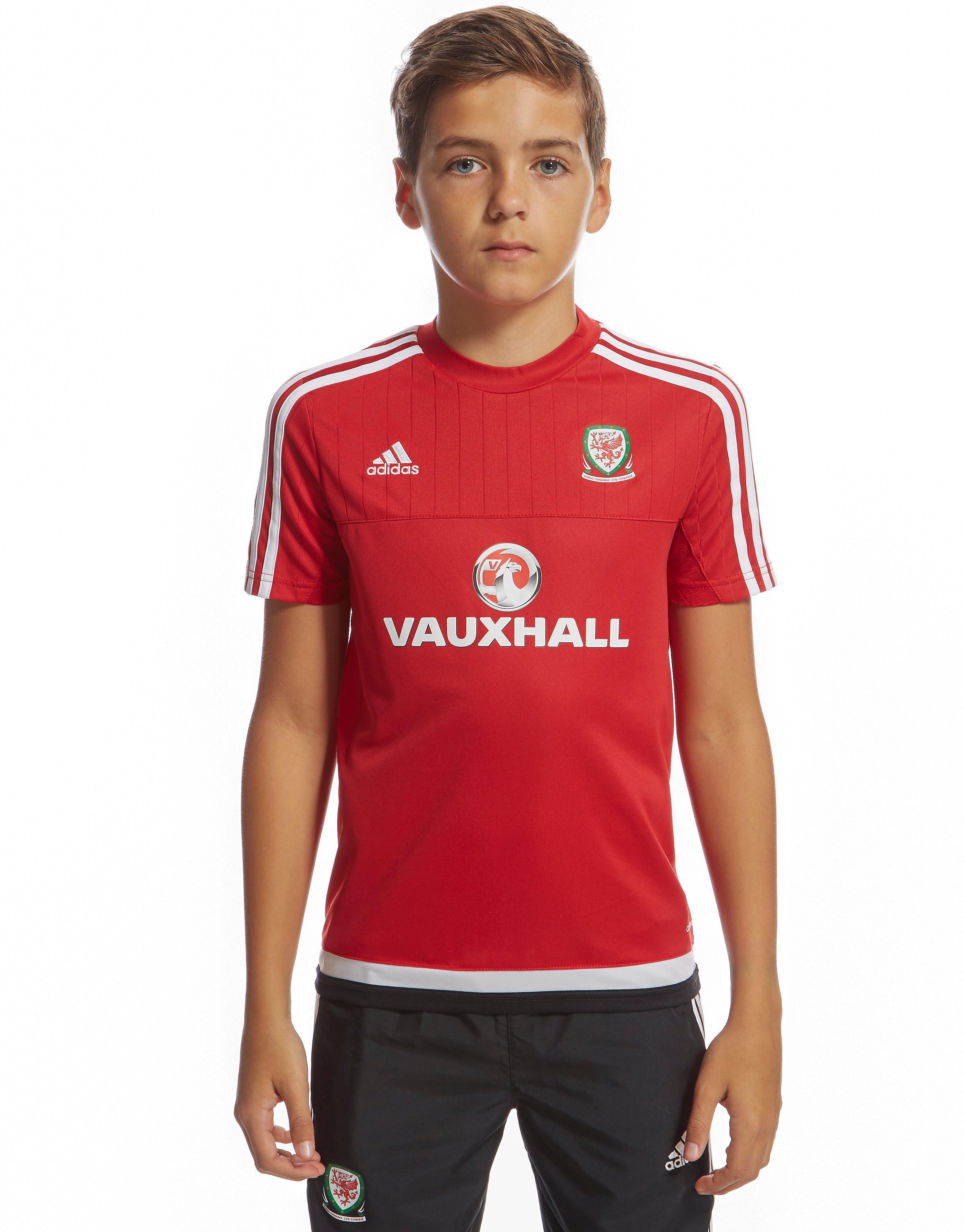 adidas Wales Training Shirt Junior