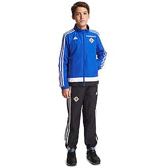 adidas Northern Ireland Presentation Suit Junior