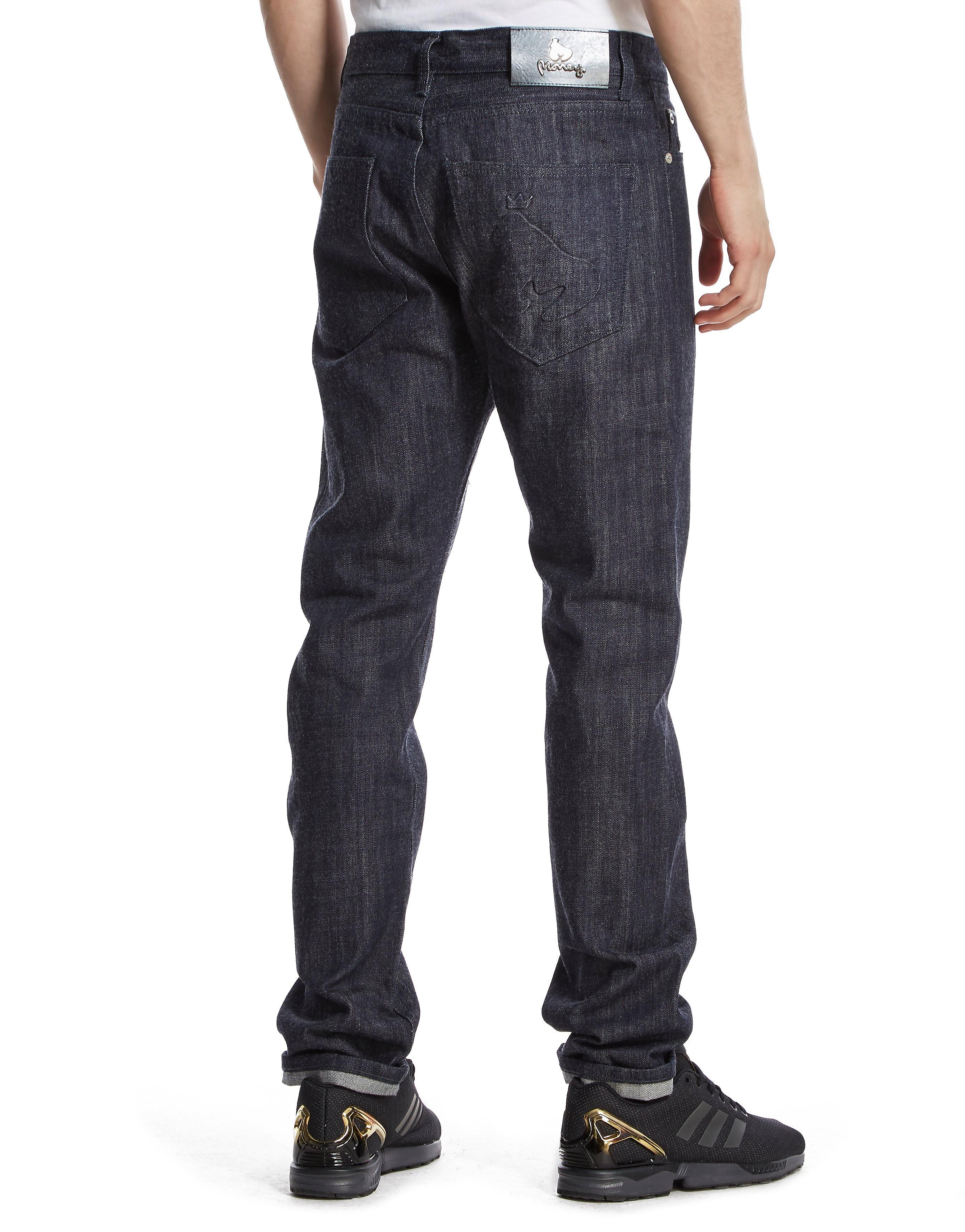 Money Deboss Jeans