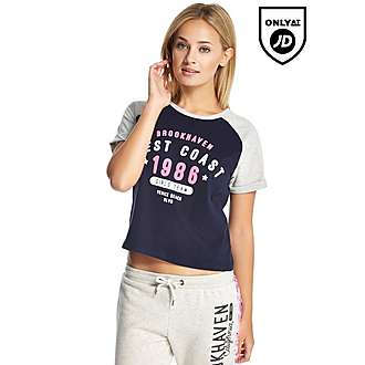 Brookhaven Brooklyn Raglan Crop T-Shirt