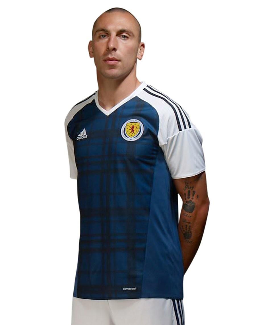 adidas Schottland 2016 Heimtrikot
