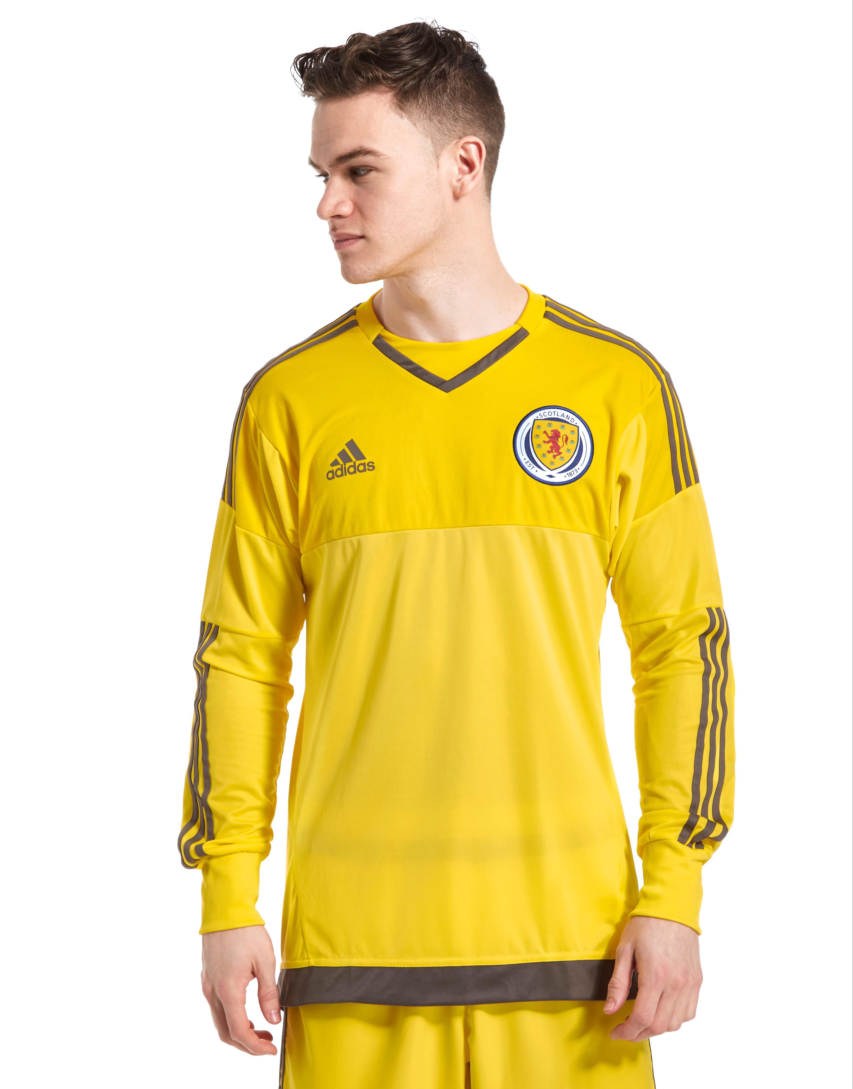 adidas Camiseta de portero de la 1.ª equipación de Escocia 2016