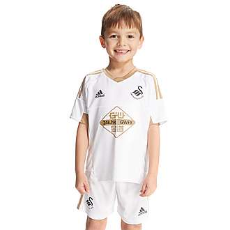 adidas Swansea City AFC 2015 Home Kit Children