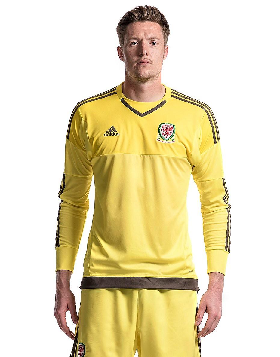 adidas FA Wales Home 2016 Goalkeeper Shirt