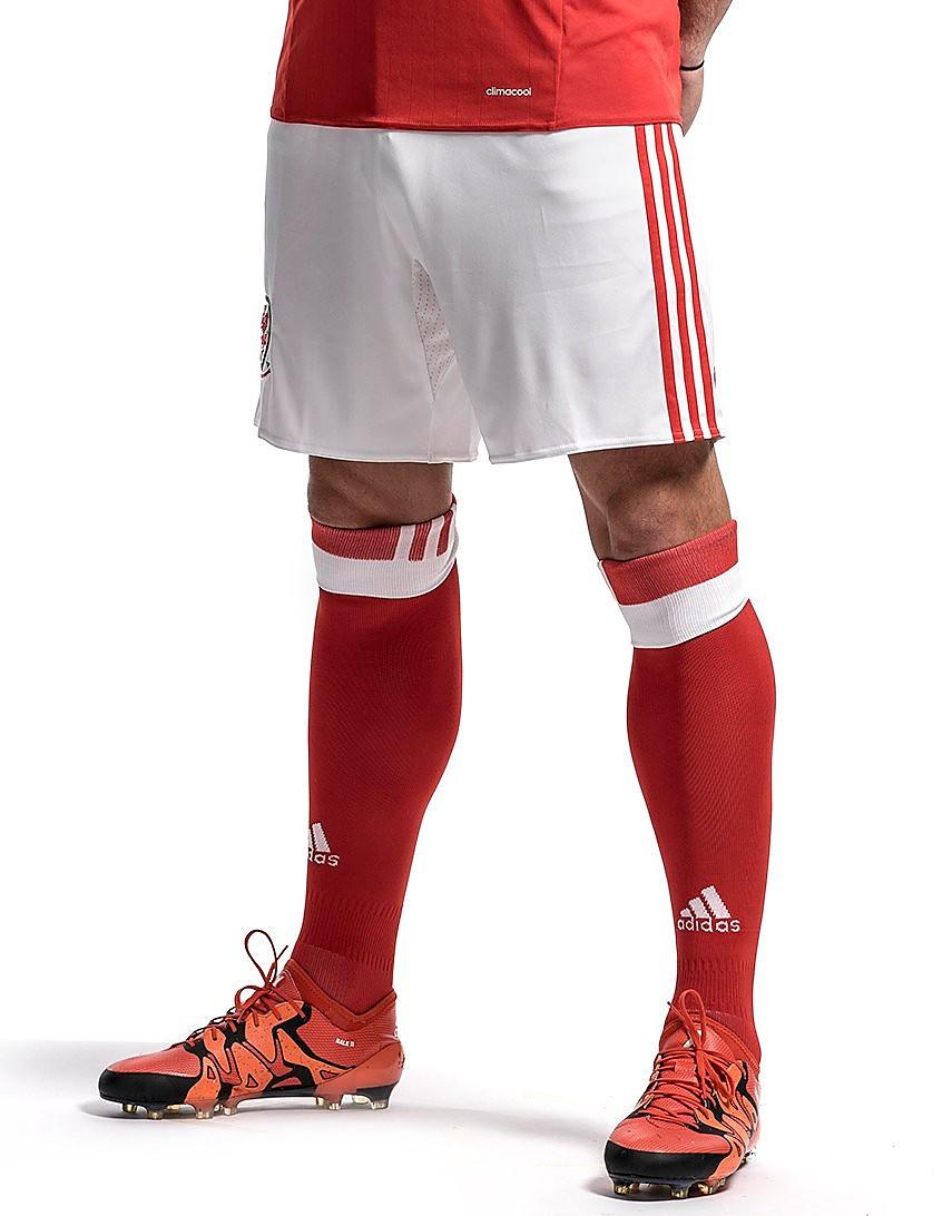 adidas FA Wales Home 2016 Shorts