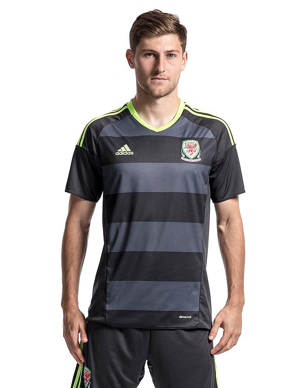 adidas Camiseta de la 2ª equipación del FA Wales 2016