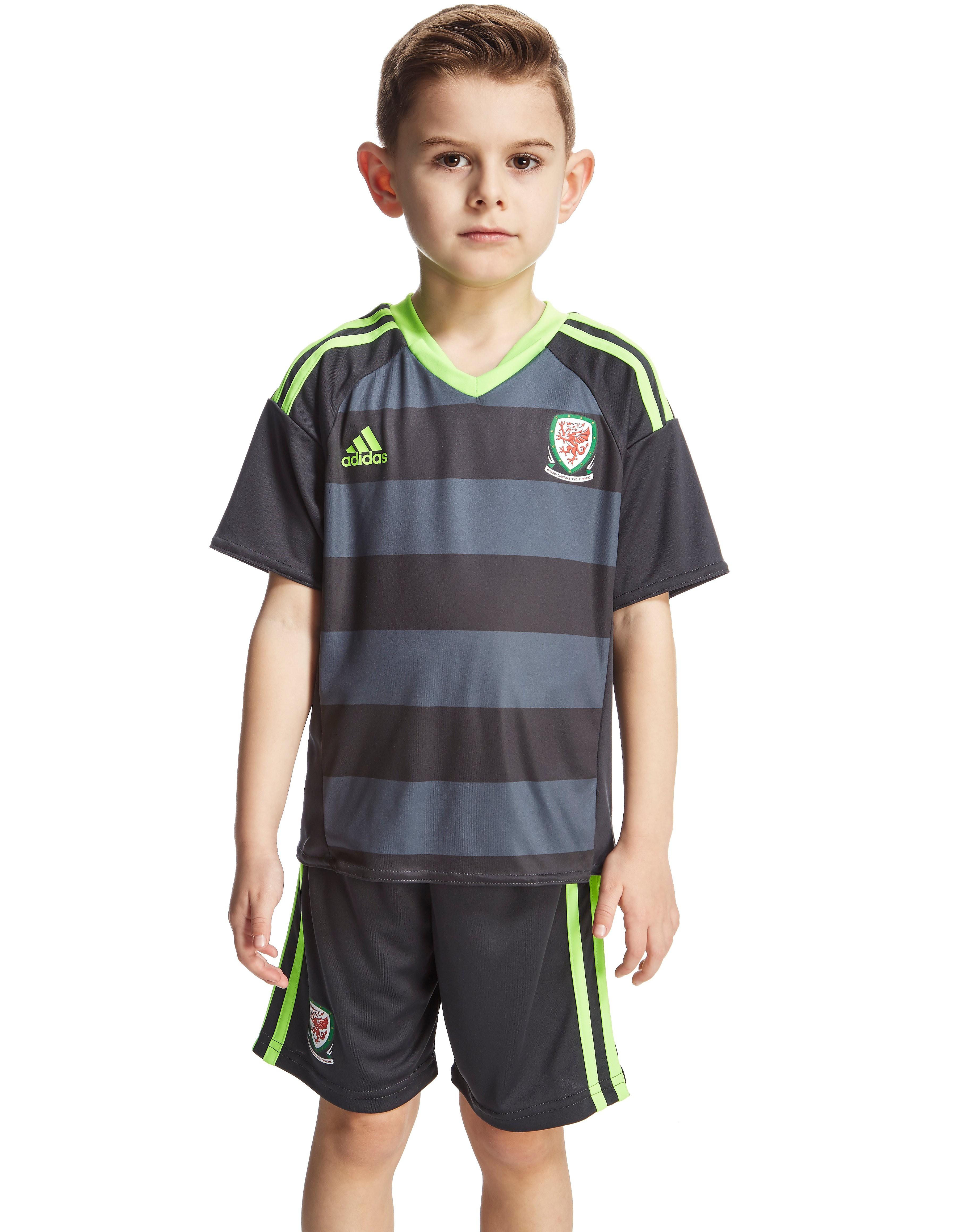 adidas FA Wales Away 2016 Kit Children