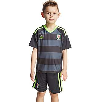 adidas FA Wales Away 2016 Kit Children