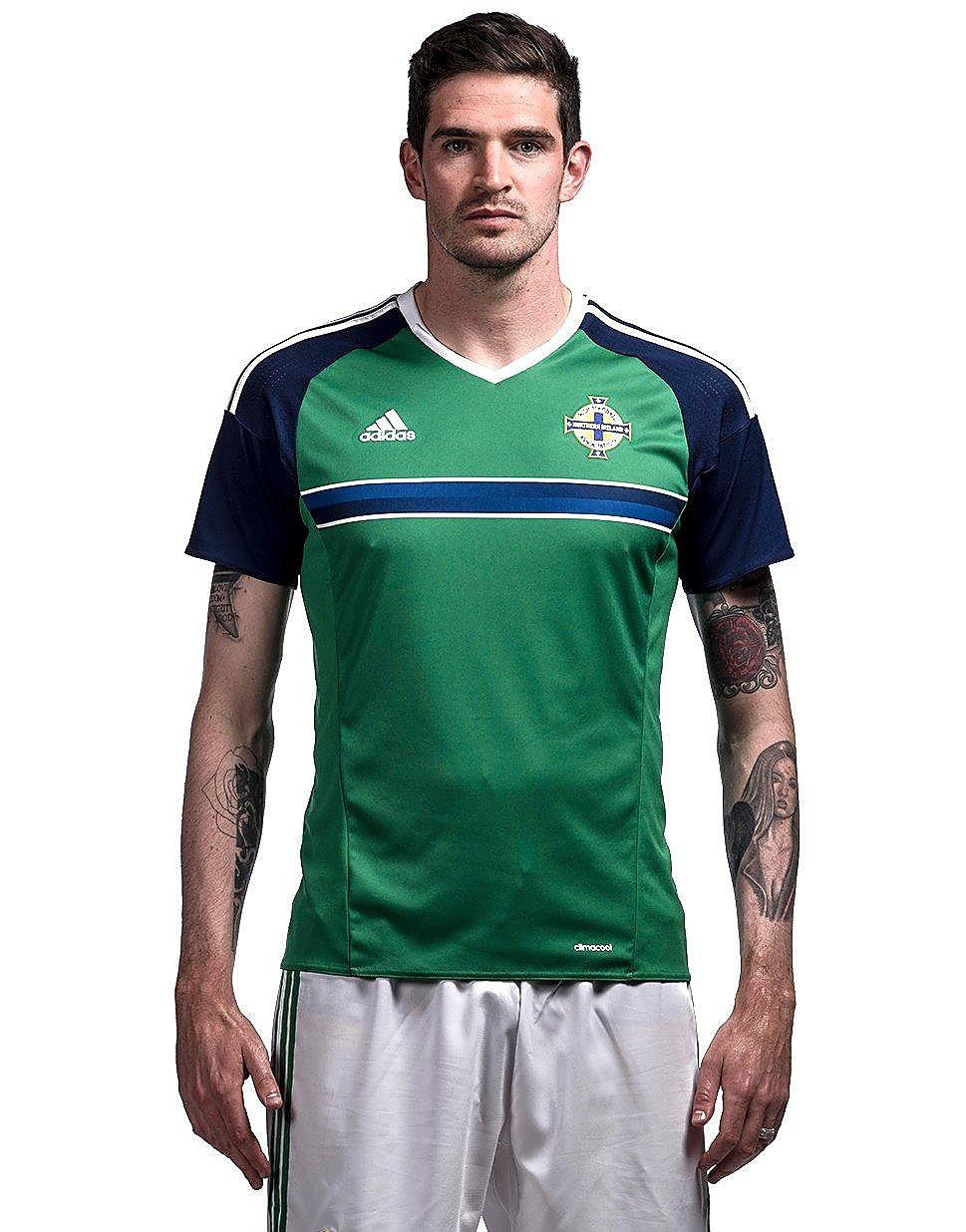 adidas Camisa de casa de Northern Ireland 2016