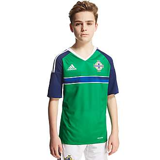 adidas Northern Ireland 2016 Home Shirt Junior