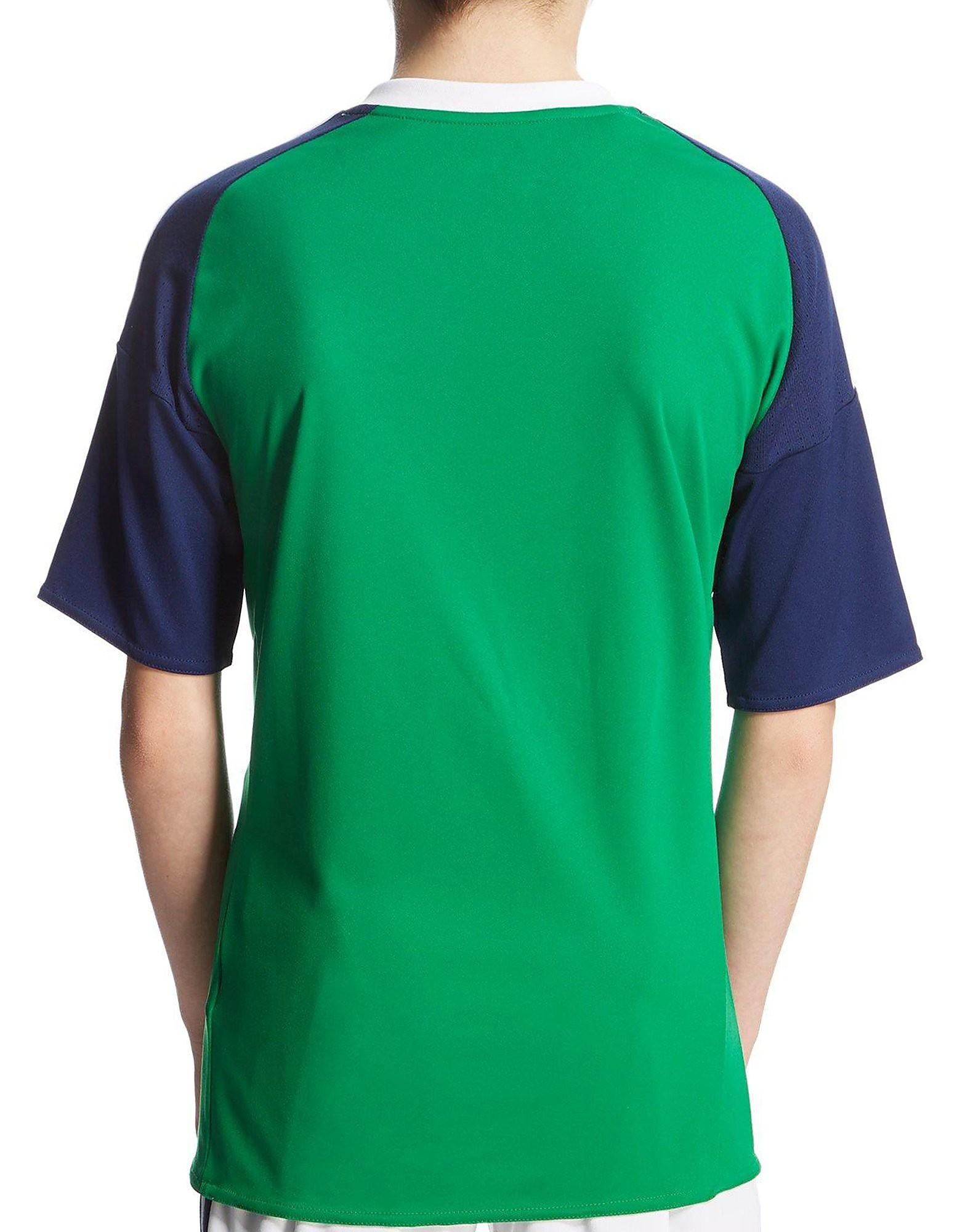 adidas Northern Ireland 2016 Home Shirt Junior