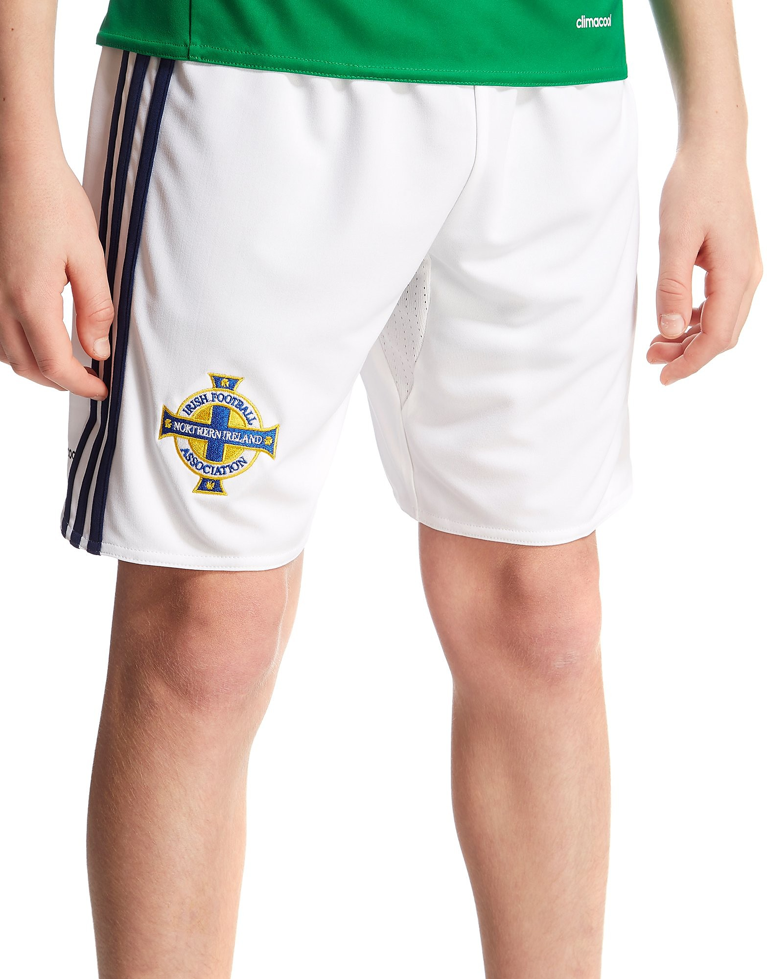 adidas Northern Ireland 2016 Home Shorts Junior