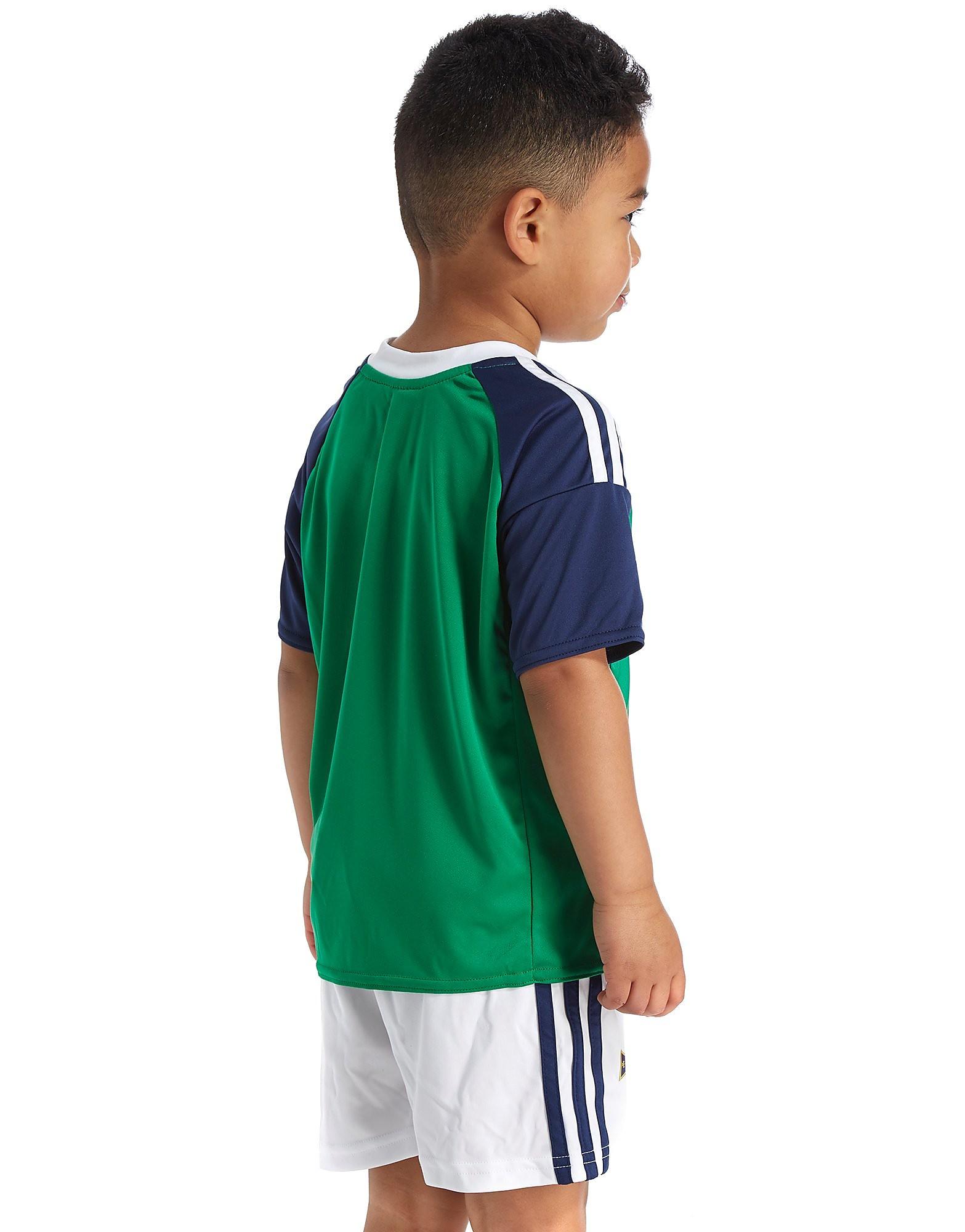 adidas Northern Ireland 2016 Home Kit Children