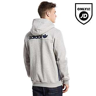 adidas Originals Trefoil Denim Full Zip Hoody