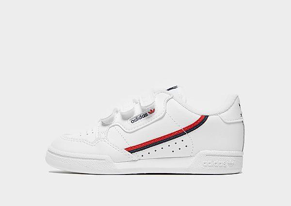 Comprar deportivas adidas Originals Continental 80 para bebé, White/Blue/Red