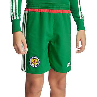 adidas Scotland 2016 Away GK Shorts Junior