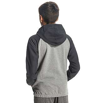 Converse Chuck Overlay Full Zip Hoody Junior