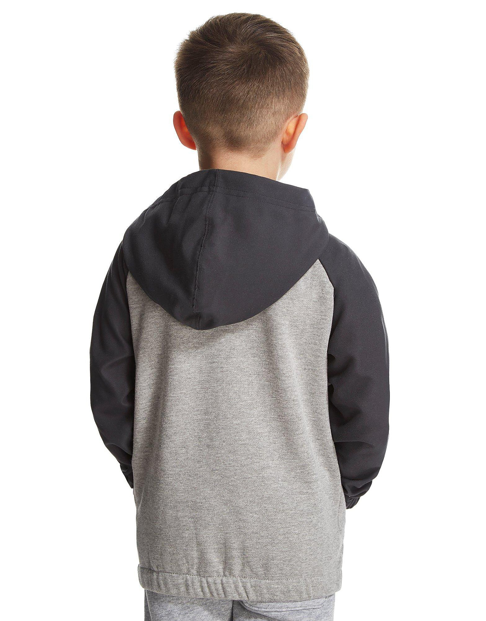 Converse Overlay Full Zip Hoody Children