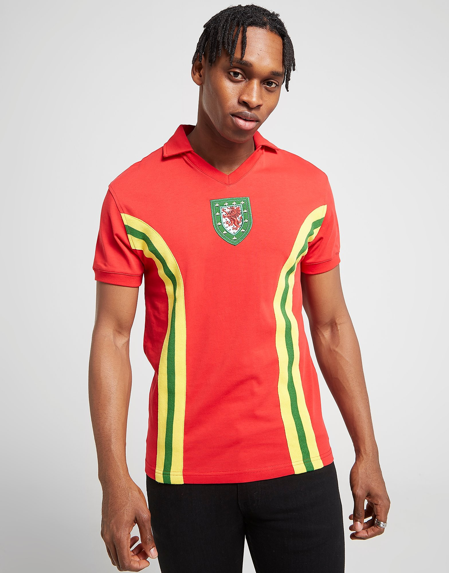 Official Team Wales 1976 thuisshirt