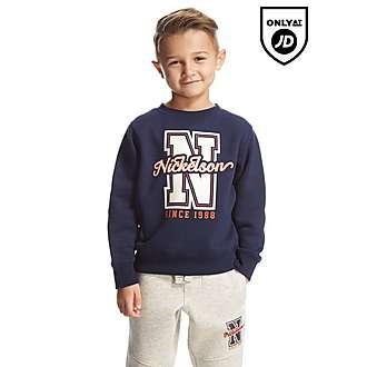 Nickelson Plummer Crew Sweatshirt Children