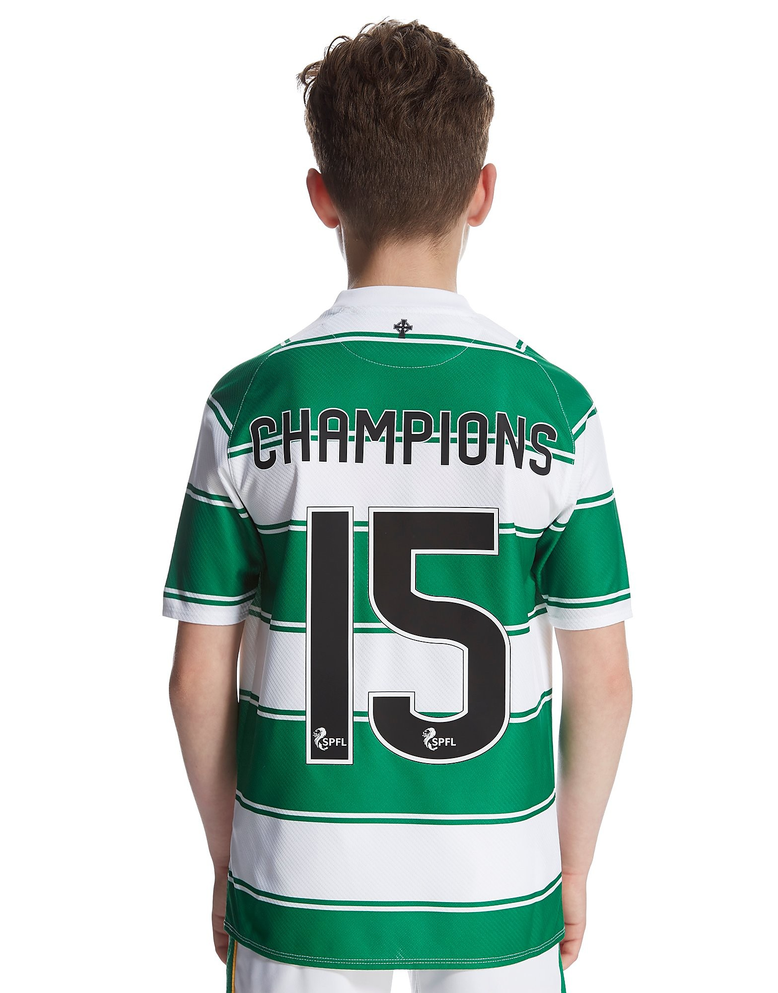New Balance Celtic FC 2015 Junior Home Champions Shirt