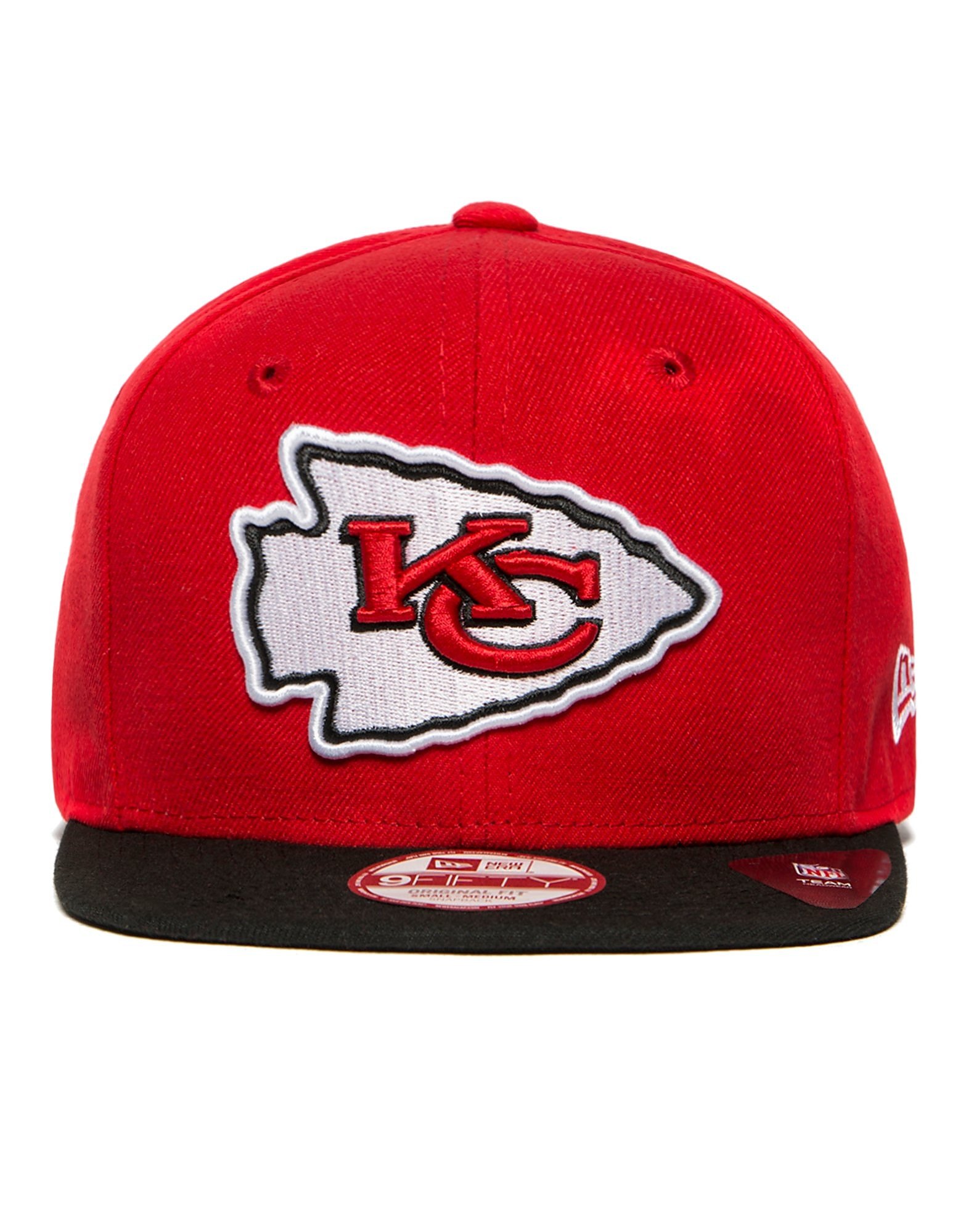 New Era NFL Kansas City Chiefs 9FIFTY Snapback Cap