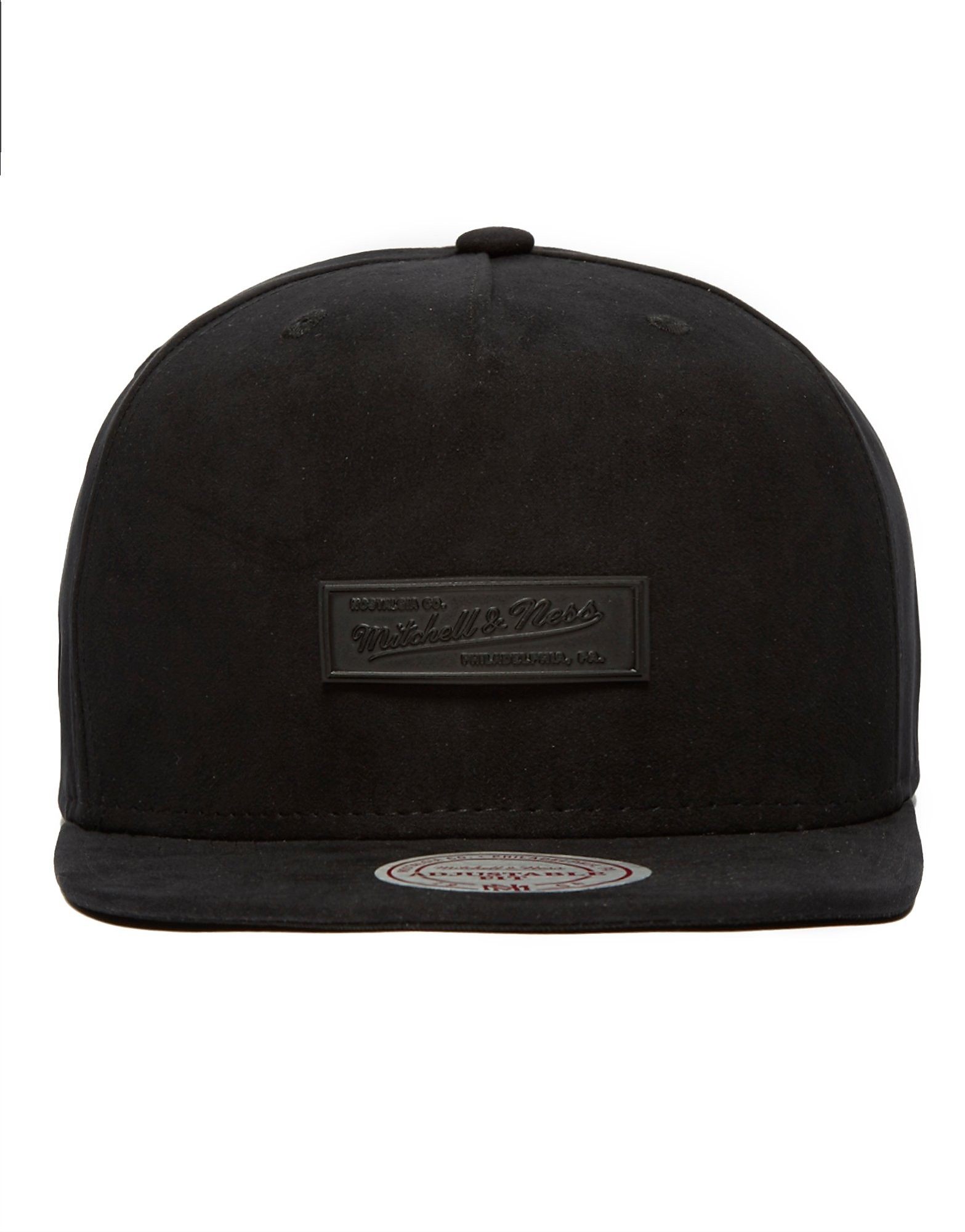 Mitchell & Ness Suede Metal Badge Snapback Cap