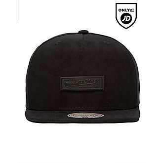 Mitchell & Ness Suede Metal Badge Snapback Cap