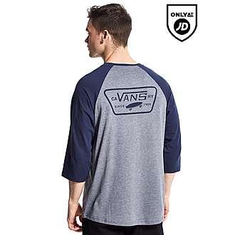 Vans Full Patch 3/4 Baseball T-Shirt