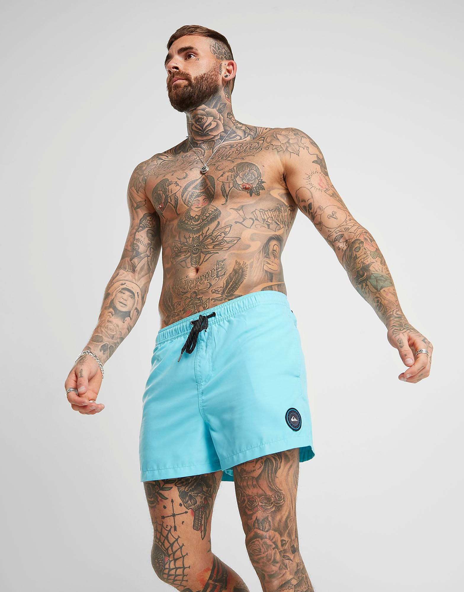 quiksilver everyday volley swim shorts - blau - mens, blau