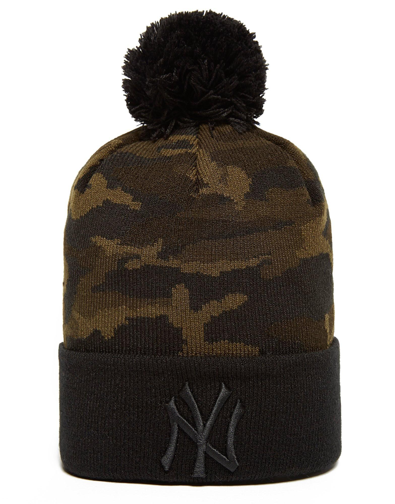 New Era MLB New York Yankees Camo Beanie Hat